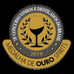 2019 Medalha de Ouro 18° Concurso de Vinhos e Destilados do Brasil.