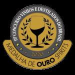 2020Medalha de Ouro 19° Concurso de Vinhos e Destilados do Brasil.