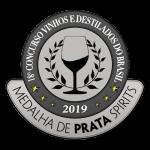 2019Medalha de Prata 18º Concurso Vinhos e Destilados do Brasil.