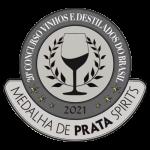 2021Medalha de Prata 20º Concurso Vinhos e Destilados do Brasil.